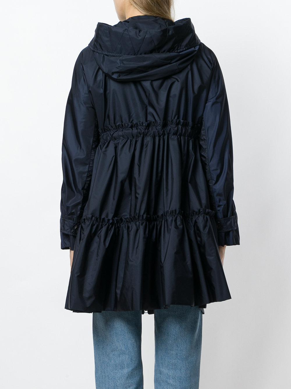 moncler turquoise coat