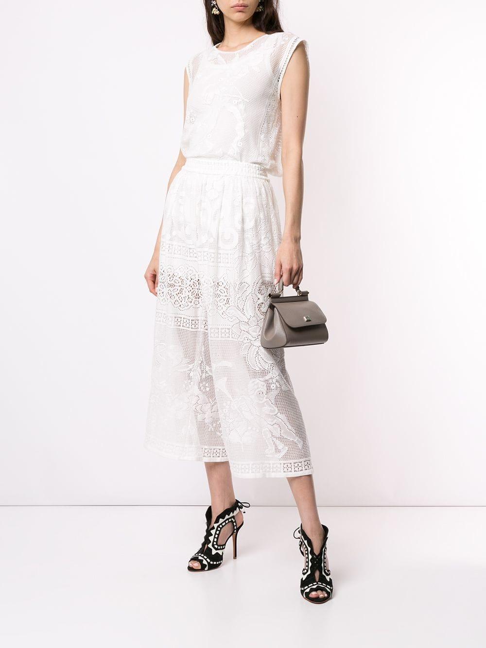 8a51184617 Lyst - Dolce   Gabbana Mini Sicily Bag