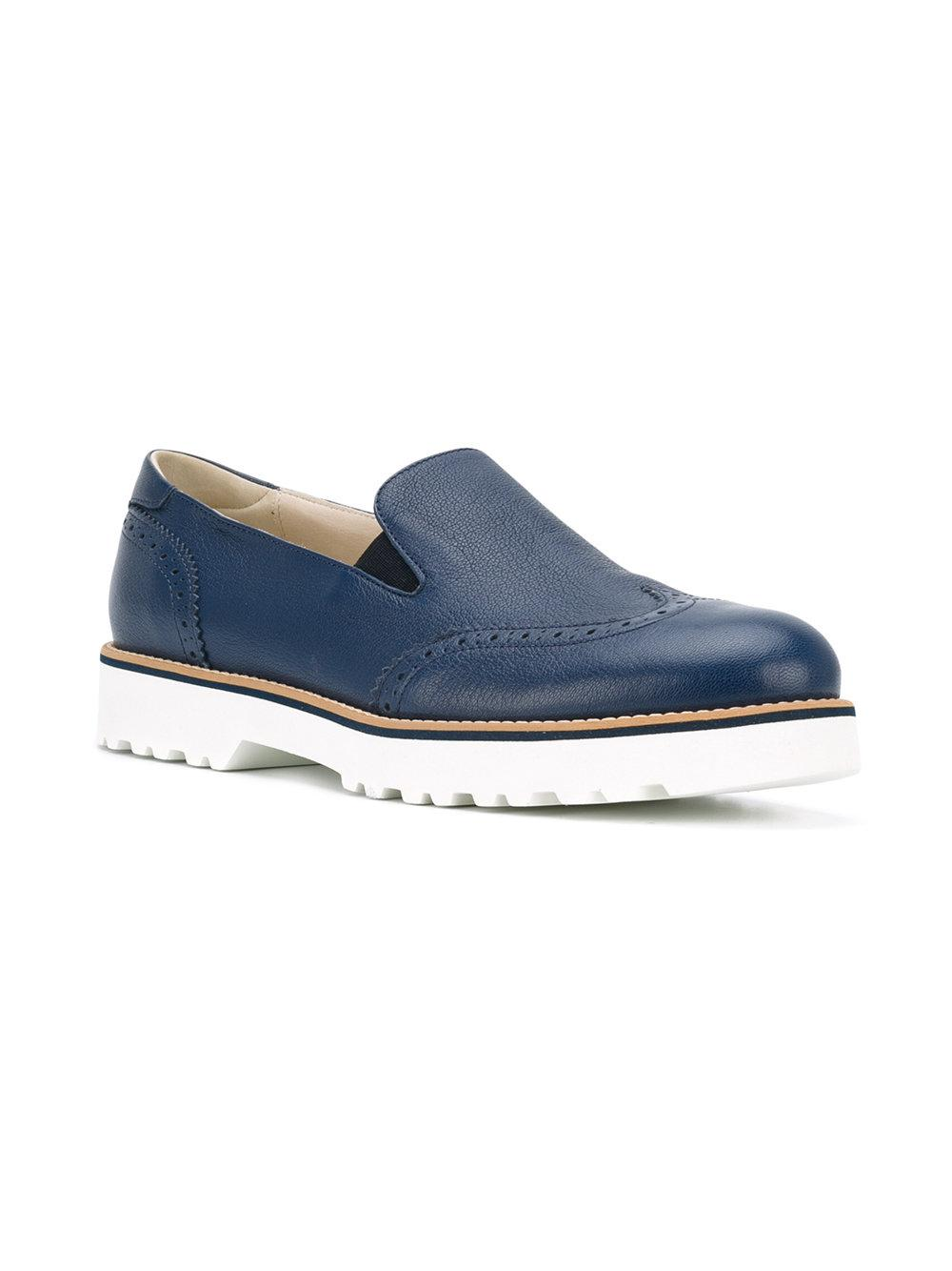 3635d22a7cf4 Lyst - Hogan Chunky Sole Loafers in Blue