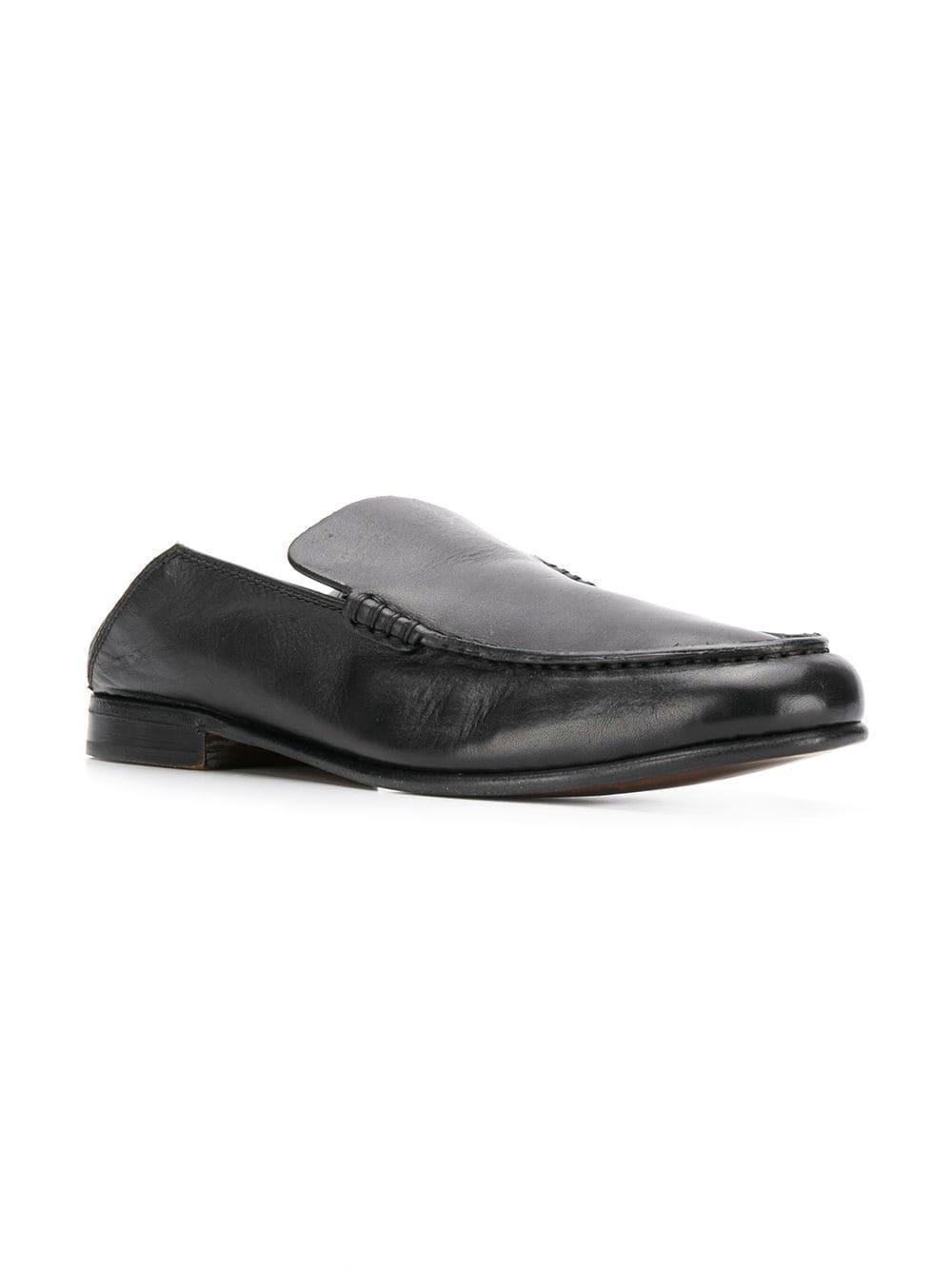 4a8a22c9bd5 Lyst - Ermenegildo Zegna Step-back Loafers in Black for Men