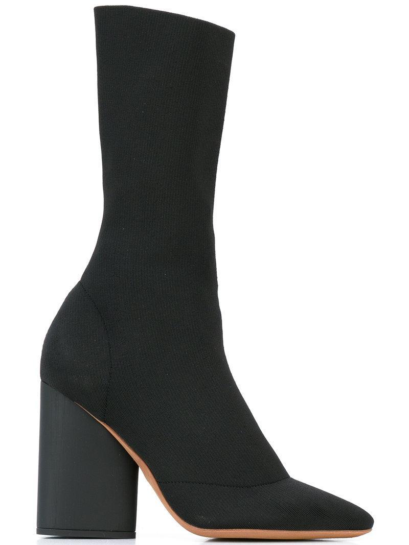 Yeezy Season 4 Pointed-Toe Sock Boots sale latest collections WXdRuU