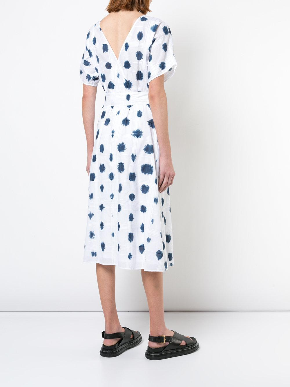polka dot dress - White Rachel Comey 2mUcbNKp0