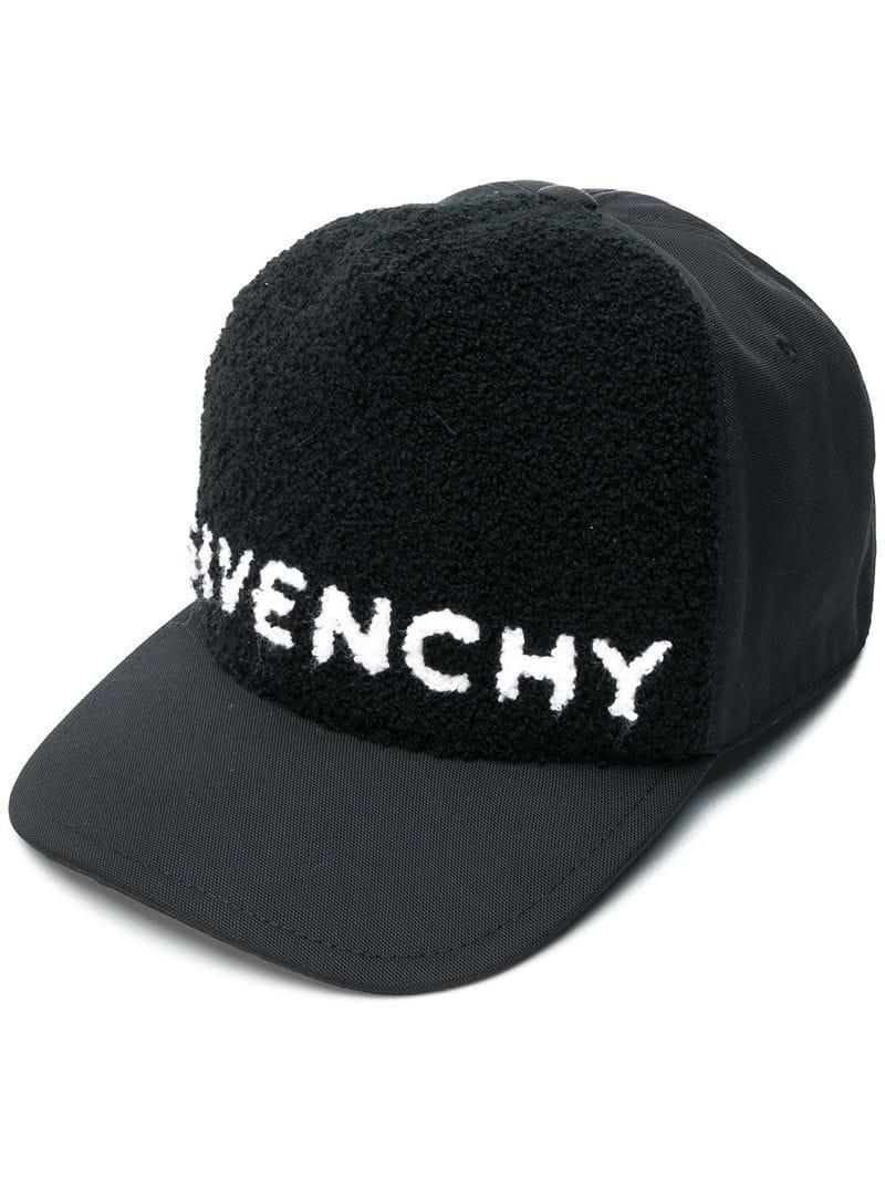 Givenchy Logo Cap in Black for Men - Lyst f6a2138c89e8