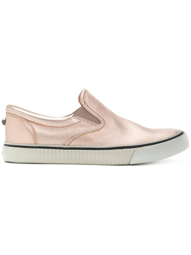 slip-on sneakers - Pink & Purple Diesel pI0nRX