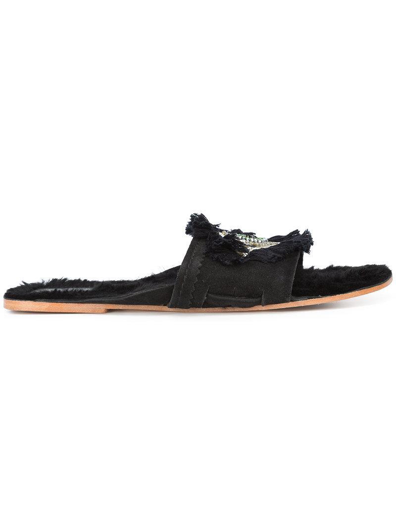 FIGUE Evil Eye Noona sandals vXIDH