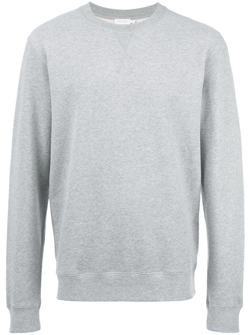 Newest Online Outlet Order Online Sunspel crew neck sweatshirt - Black Big Discount Cheap Sale Original VvOR7yV