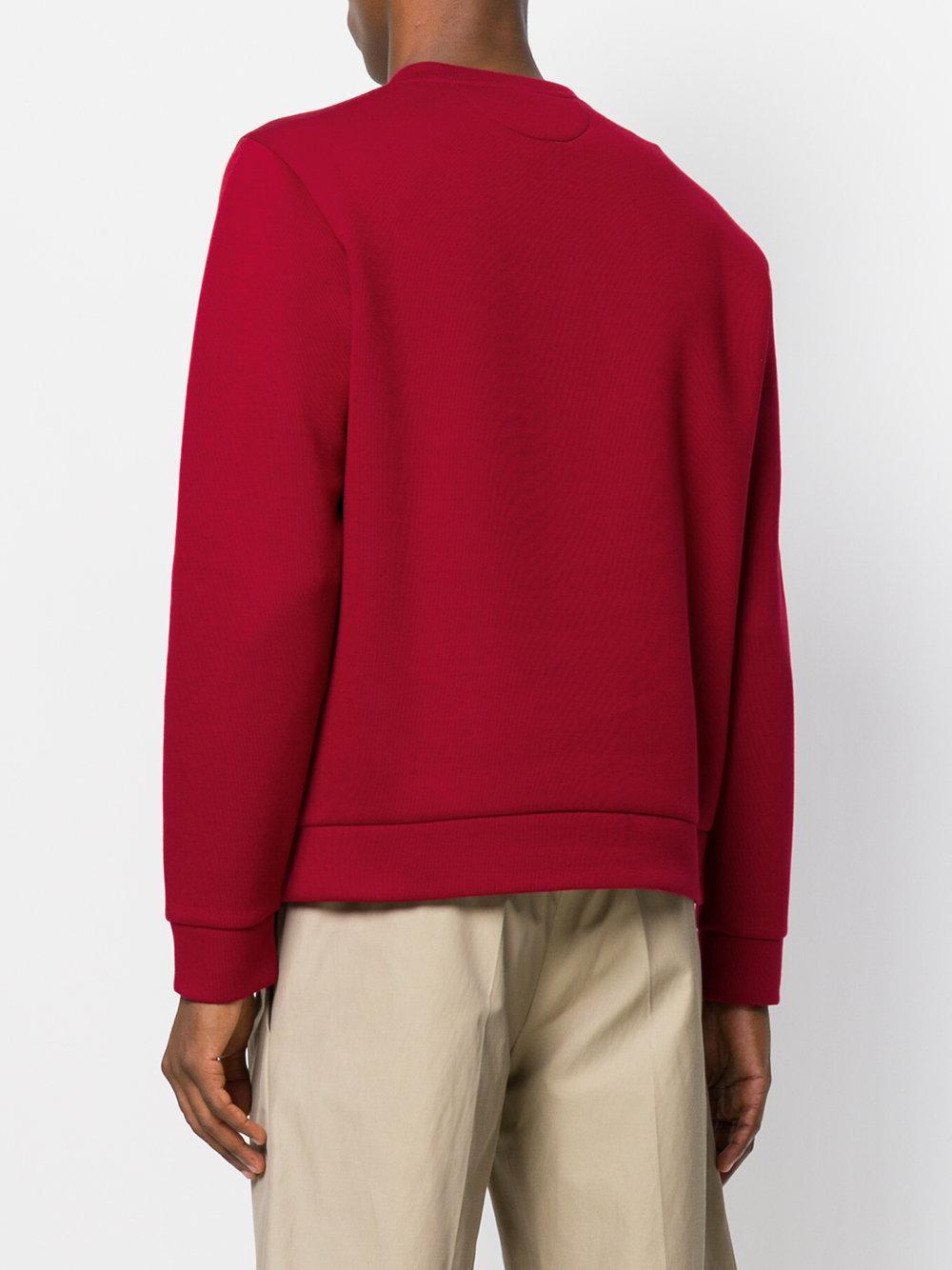 Lyst - Sweat Bag Bugs Fendi pour homme en coloris Rouge cad1818b792