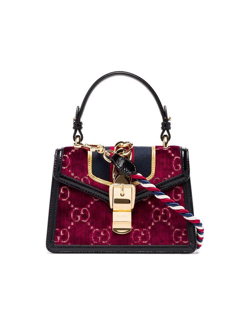 438501f11 Gucci - Red Bolso de hombro Sylvie - Lyst. Ver en pantalla completa