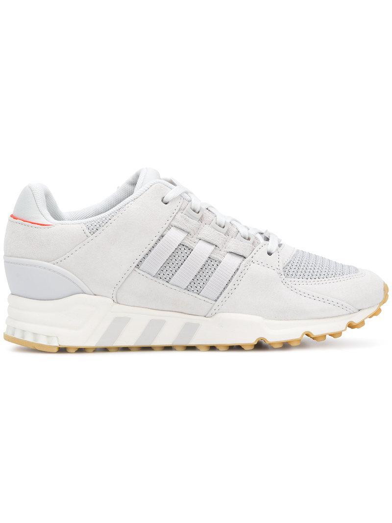 Lyst adidas Originals EQT apoyo ultra zapatillas gris