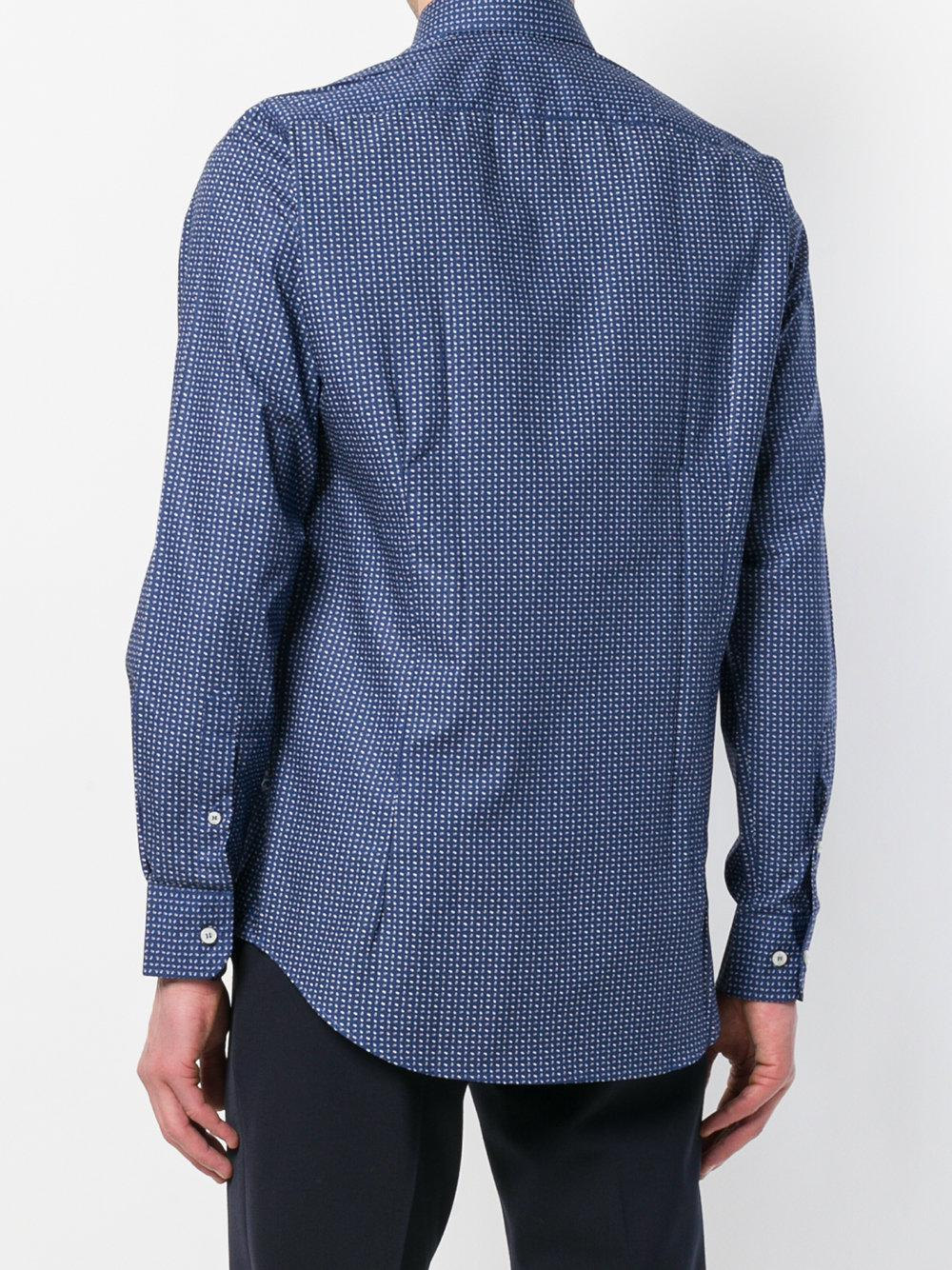 patterned style shirt - Blue Etro Cheap Sale Cheap New Cheap Price Buy Online With Paypal 5uoFho