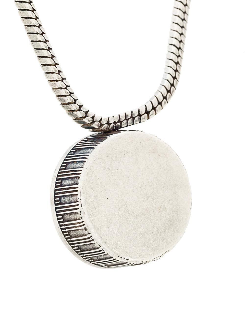 Golden Goose long pendant necklace - Metallic sEcuTbpL