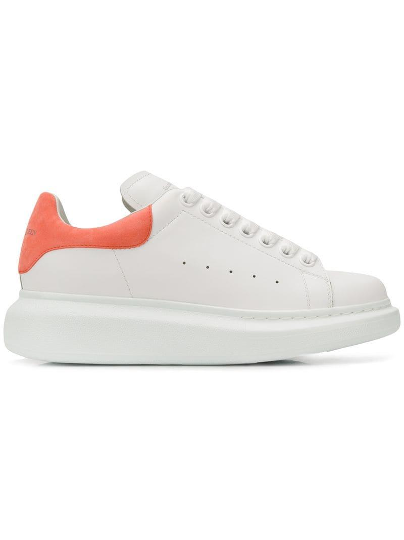 37628d96231c Lyst - Alexander McQueen Oversized Sole Sneakers in White - Save 16%