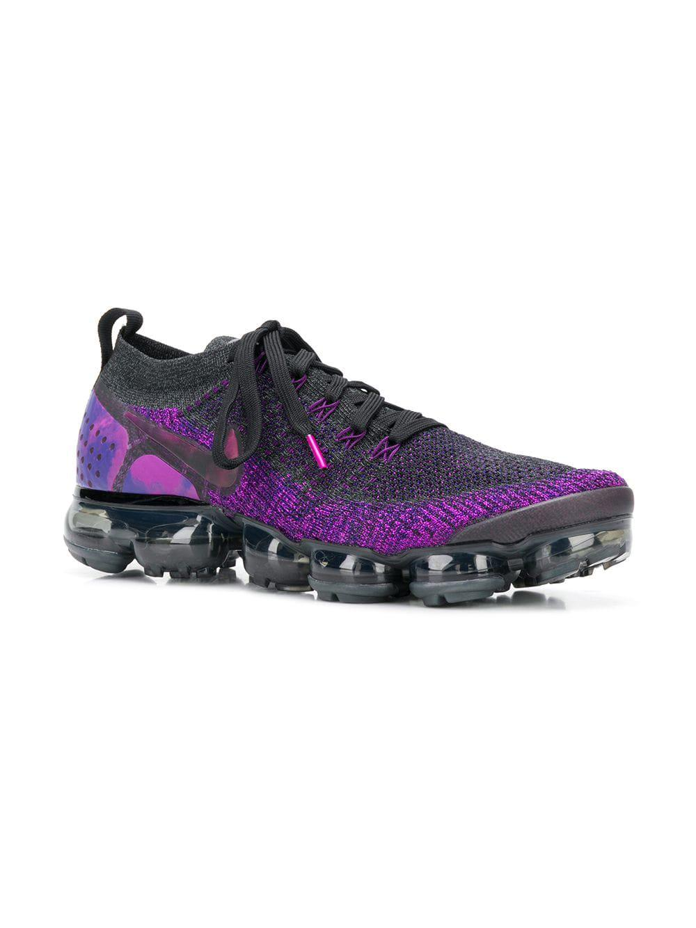 b7ee262a4983 Nike - Purple Air Vapormax Flyknit 2 Sneakers for Men - Lyst. View  fullscreen