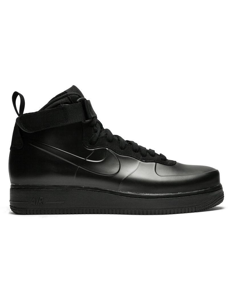 new styles d485b 7fab8 Nike. Men s Black Air Force 1 Sneakers