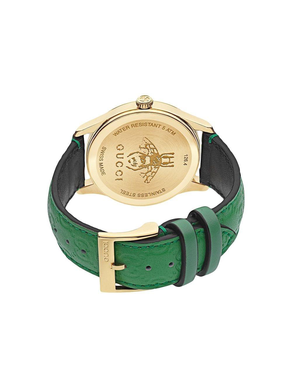 41ff2612049b5 Gucci - Green G-timeless Watch