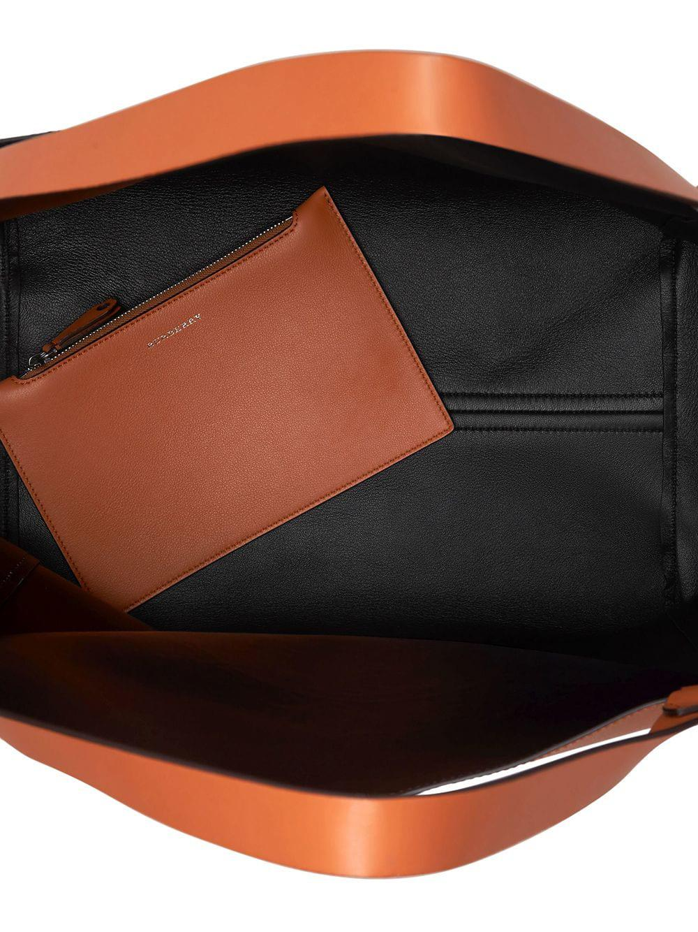 392367696420 Burberry Large Embossed Crest Bonded Leather Tote in Brown for Men ...