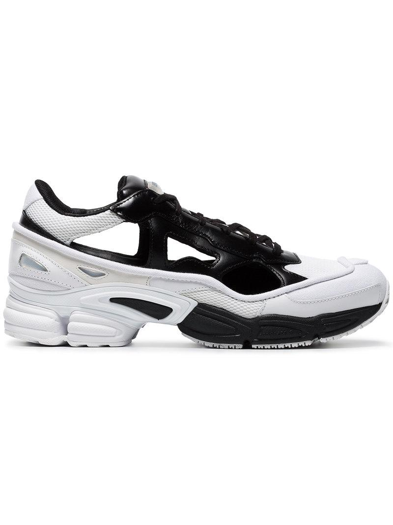 91dfa6450c7 Lyst - adidas By Raf Simons Rs Replicant Ozweego Sneakers in White ...