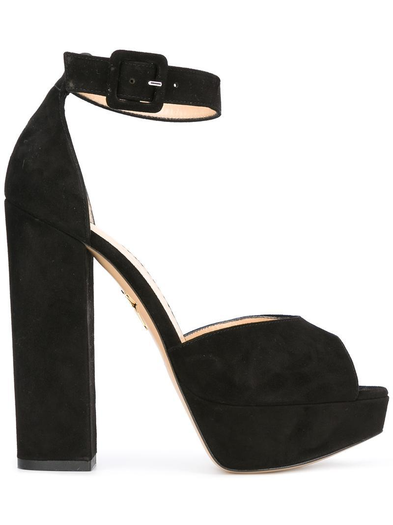 Eugenie 100 sandals - Black Charlotte Olympia