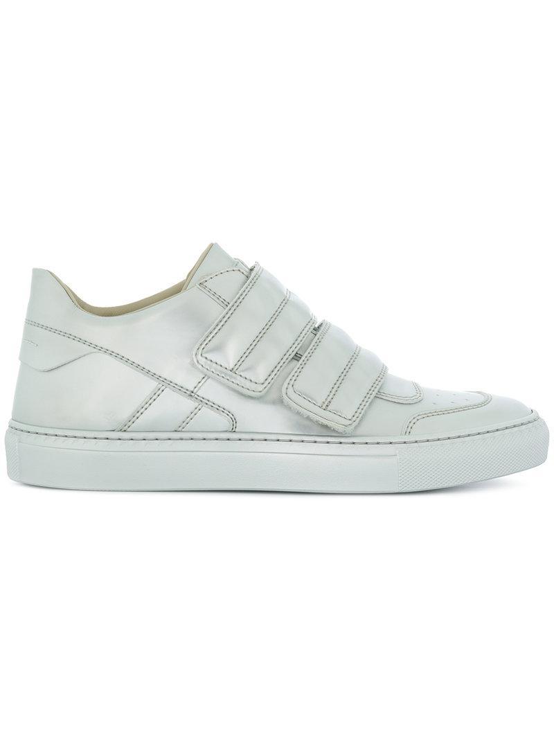 metallic touch strap sneakers - White Maison Martin Margiela rhReFuH