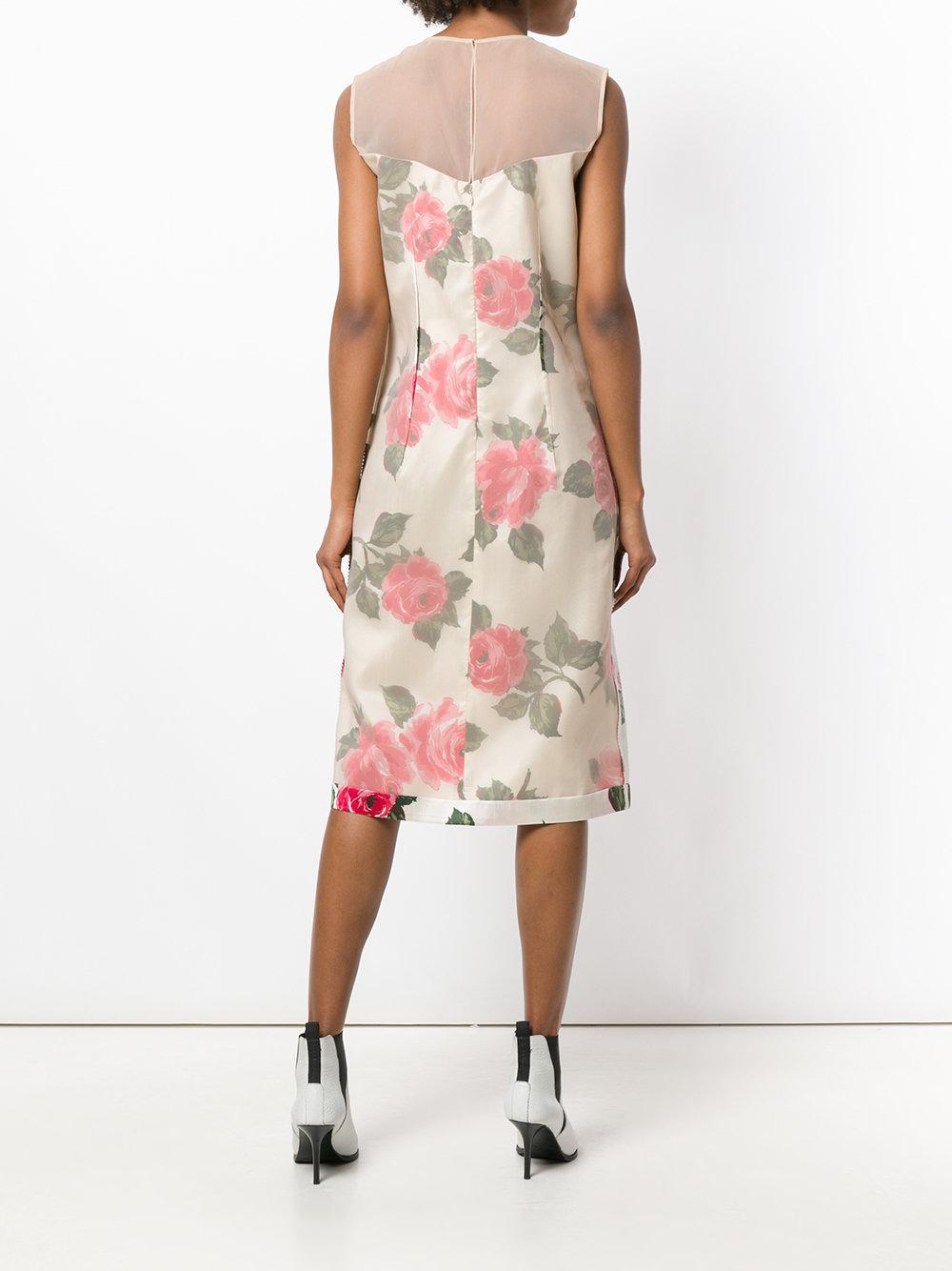floral print dress - Nude & Neutrals Maison Martin Margiela CwTskLj