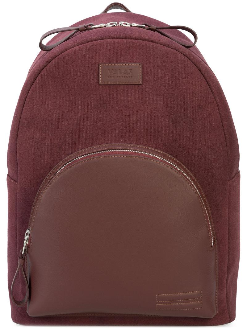 round top backpack - Red Valas The Cheapest Cheap Price Discount Footlocker Quality Original iMfJ6i