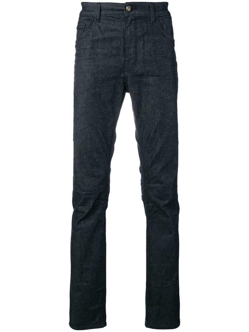 eaf7391f6e Class Roberto Cavalli Slim Fit Jeans in Blue for Men - Lyst