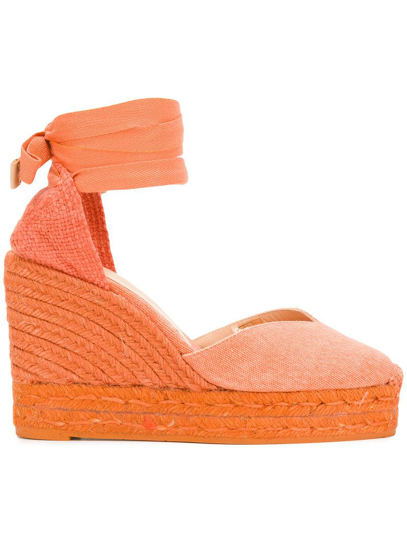 Chiara pumps - Yellow & Orange Castaner ztsjl3