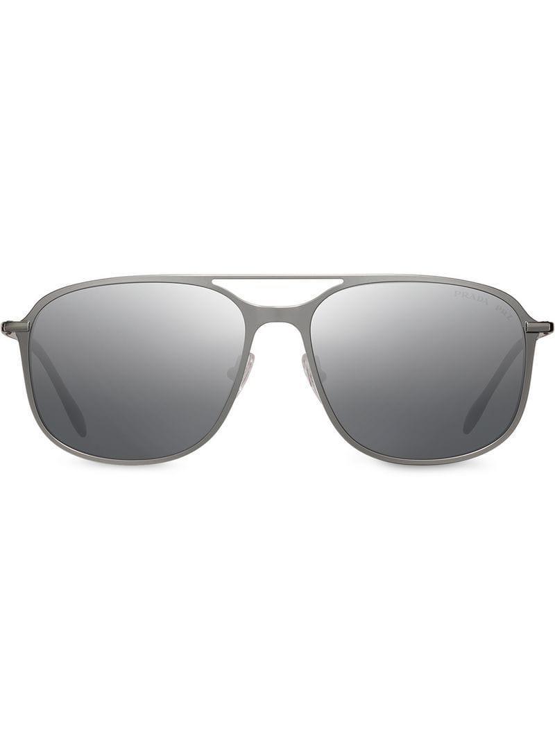 c886ab077f Lyst - Prada Prada Linea Rossa Constellation Eyewear in Metallic for Men