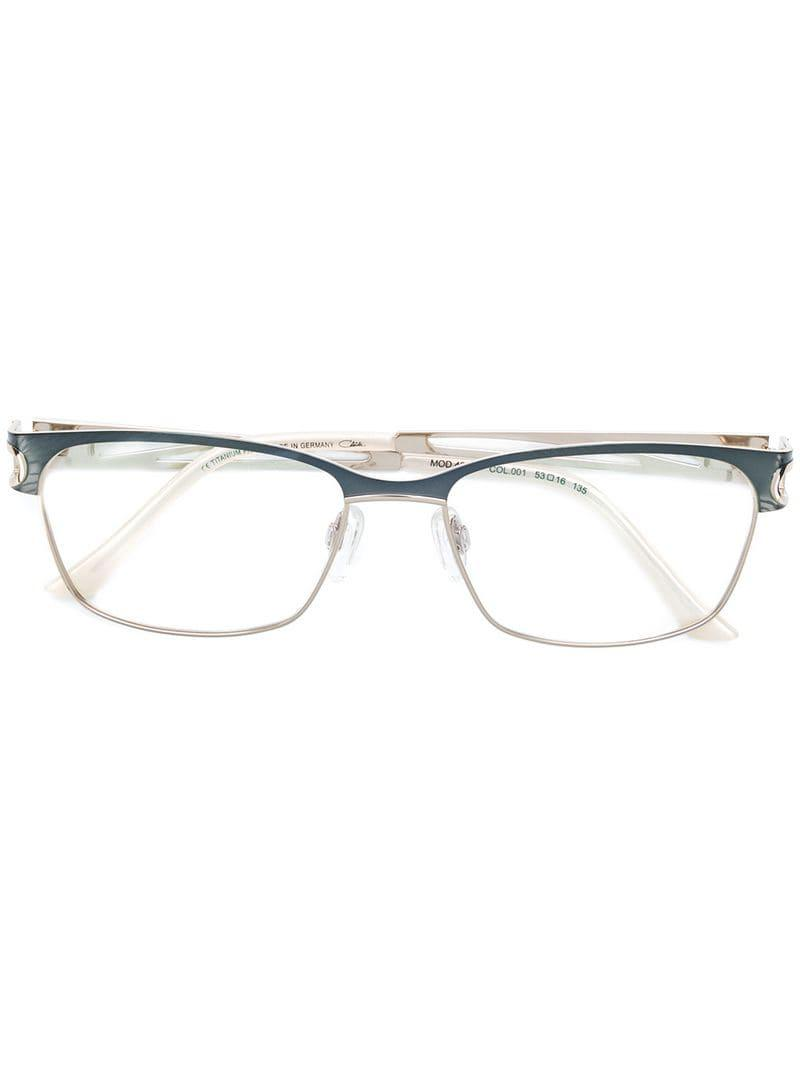 64f66b3fcb03 Cazal. Women s Rectangle Frame Glasses