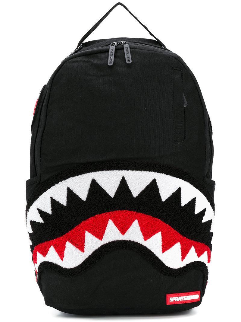 coloris backpack Sprayground homme Shark Noir en Lyst pour YBxfqCT