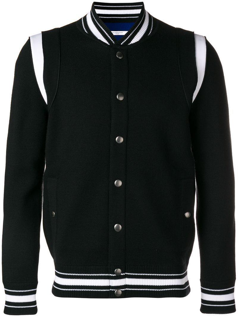 8eaa2f38e77 Lyst - Givenchy 4g Embroidered Bomber Jacket in Black for Men