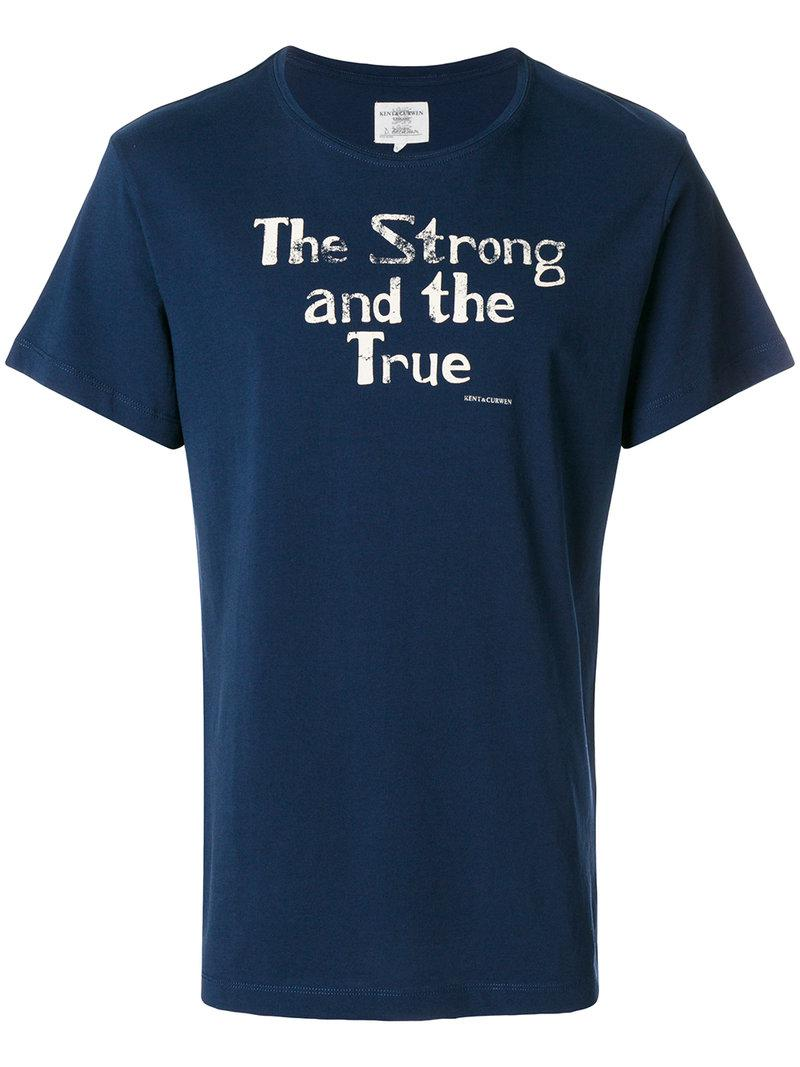Hot Sale For Sale slogan T-shirt - White Kent & Curwen Cheap New Arrival Shop For Sale mG2m8o