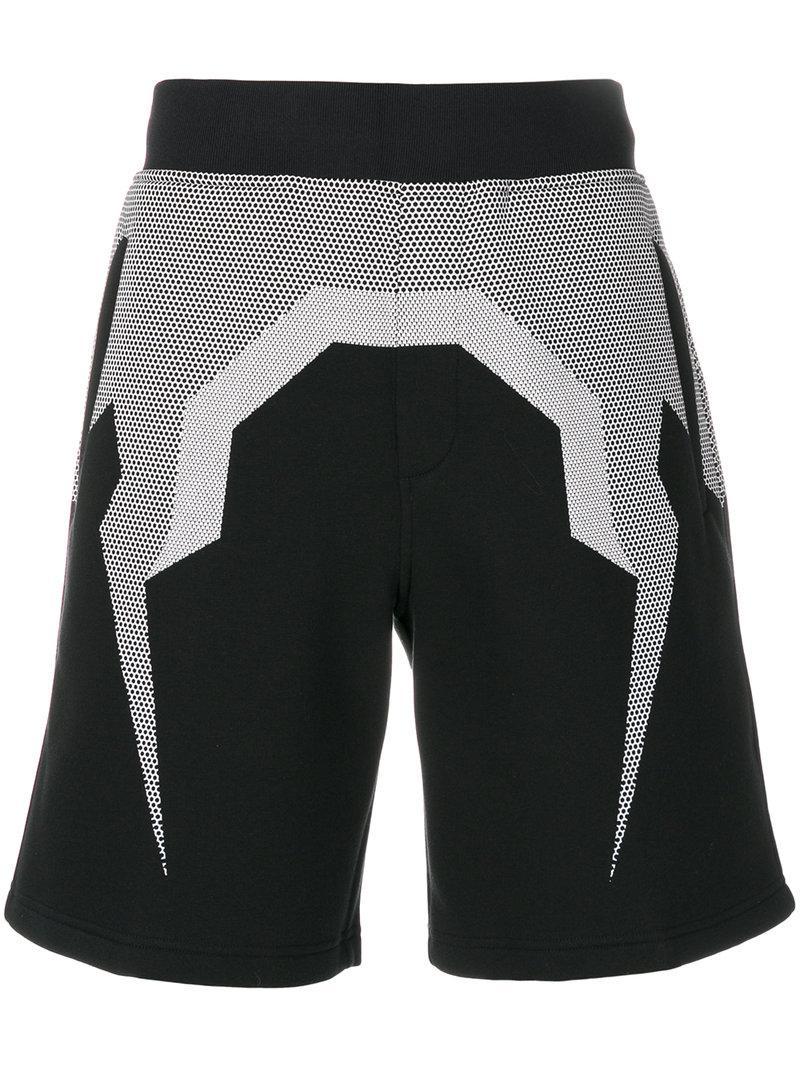 bermuda shorts - Black Neil Barrett lbyLBXQC