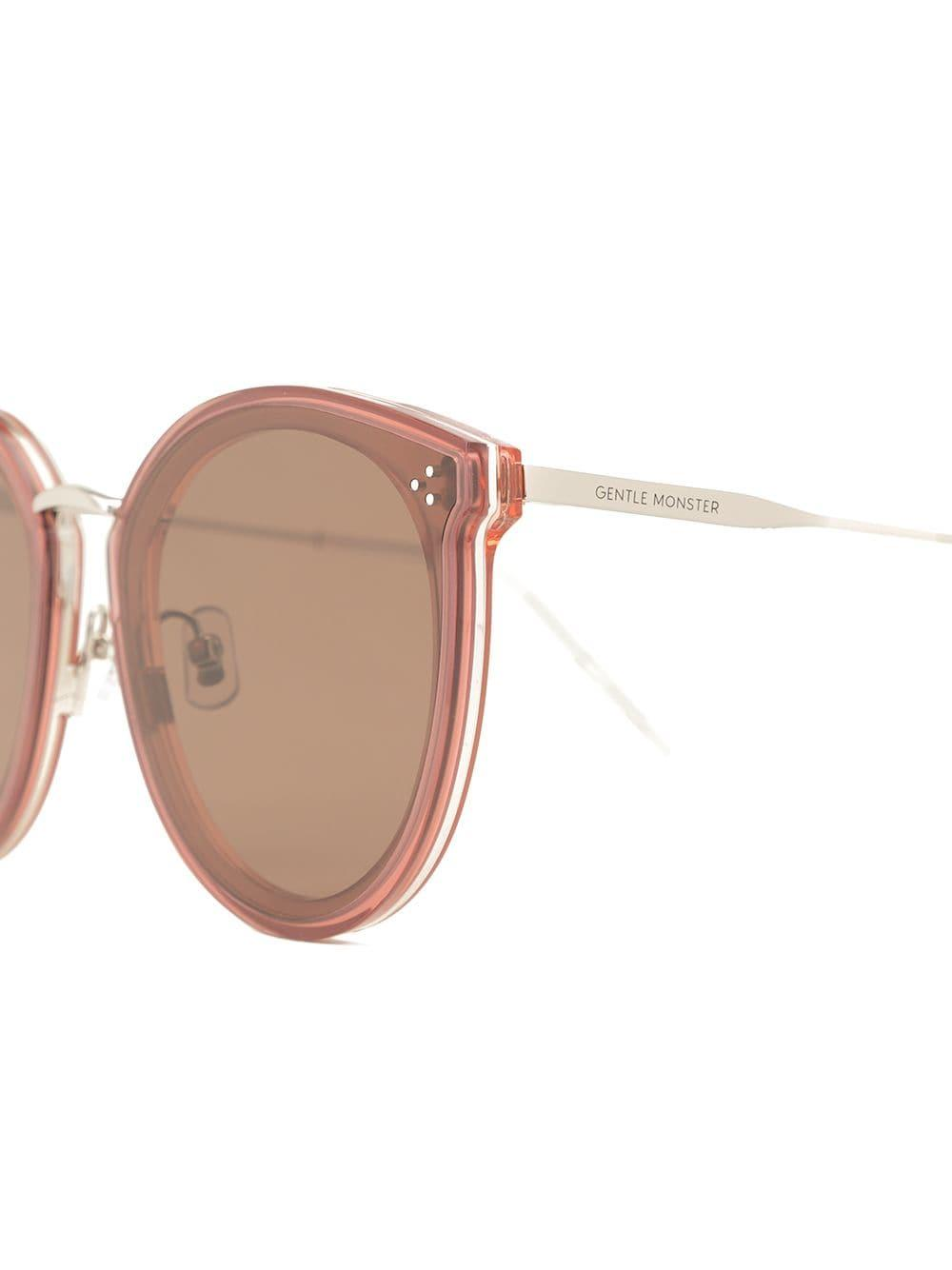 b9e15f6ba3 Gentle Monster - Pink Paw Paw Sunglasses - Lyst. View fullscreen