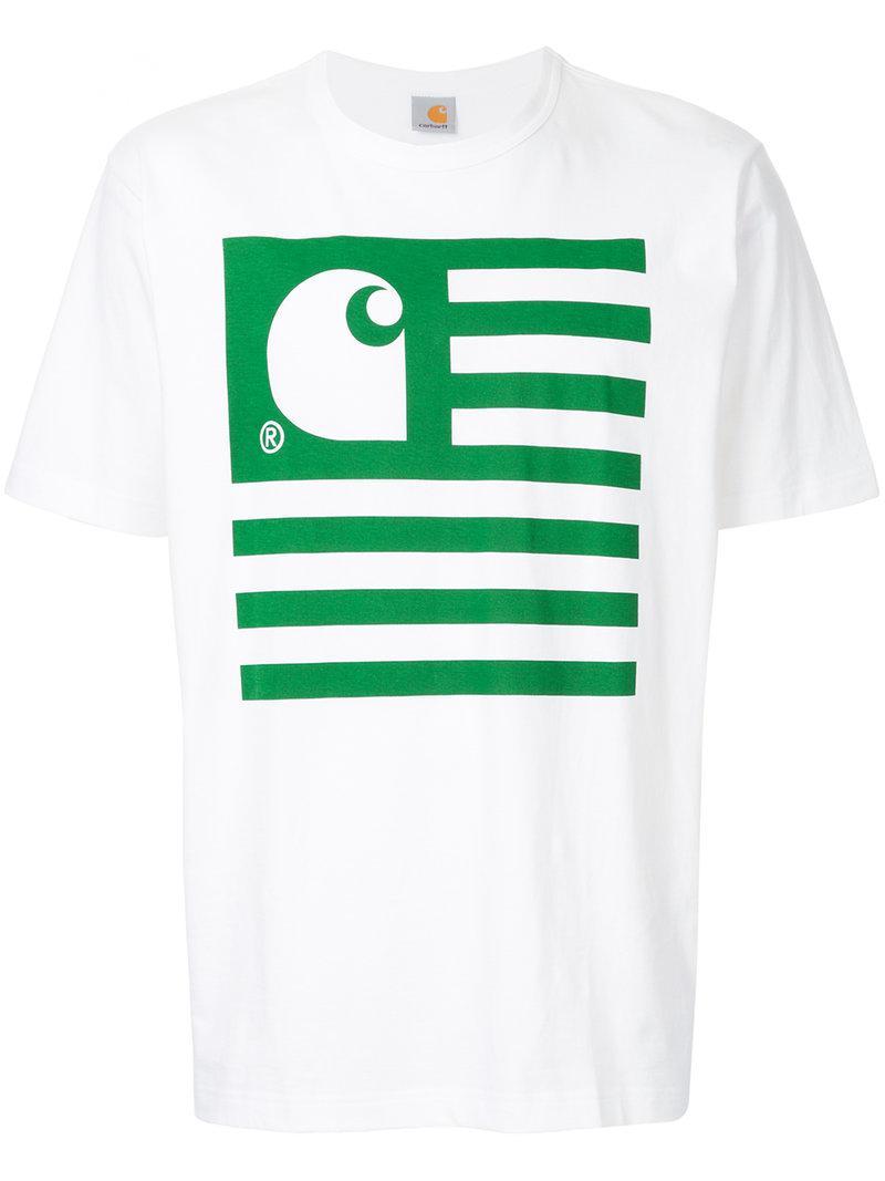 15a400963 Lyst - Junya Watanabe Junya Watanabe X Carhartt Printed T-shirt in ...