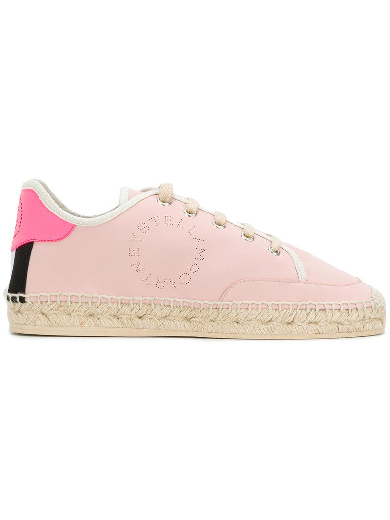 espadrille sneakers - Pink & Purple Stella McCartney rqEqeHdZ