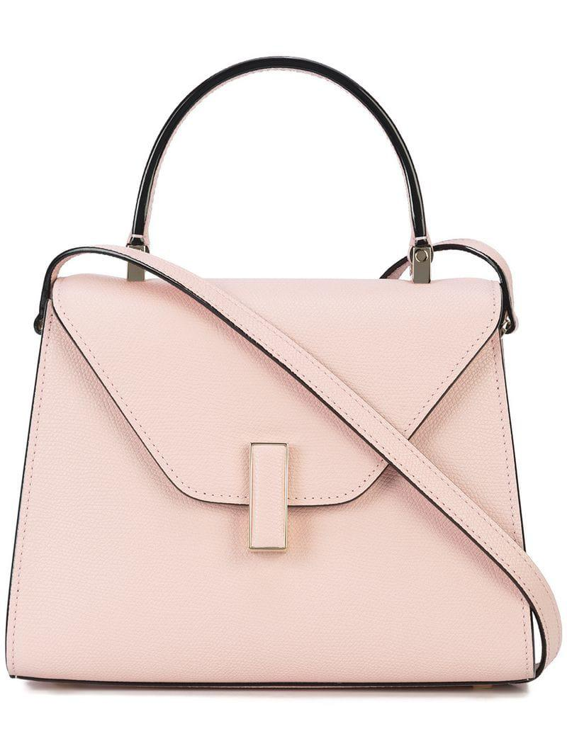 Lyst Bag Crossbody In 0 Save Valextra Iside 15503875968991565 Pink rCtwExrqZv