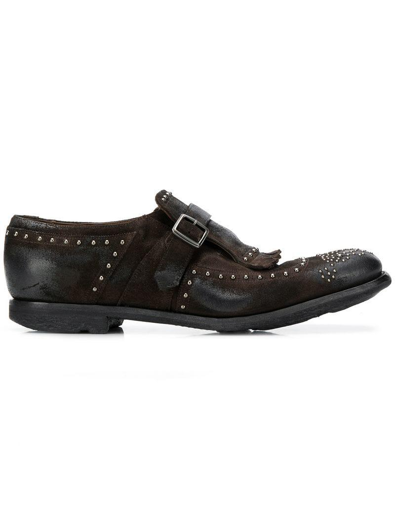 Lyst - Church S Shanghai Monk Shoes in Brown for Men e9d605bbd60