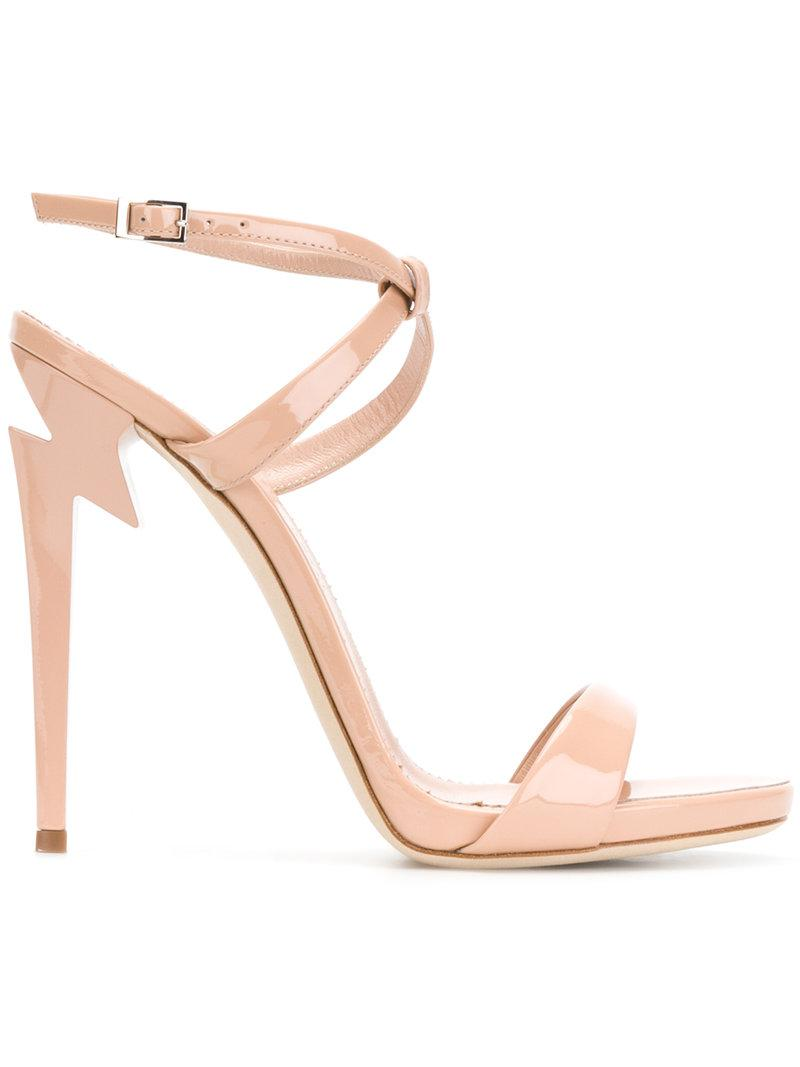 Giuseppe Zanotti Crossover Platform Sandals cheap discount authentic 100% original cheap price CZdr8mP