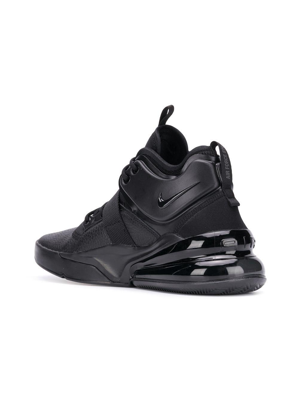 more photos e37aa 96557 Nike - Black Air Force 270 Sneakers for Men - Lyst. View fullscreen