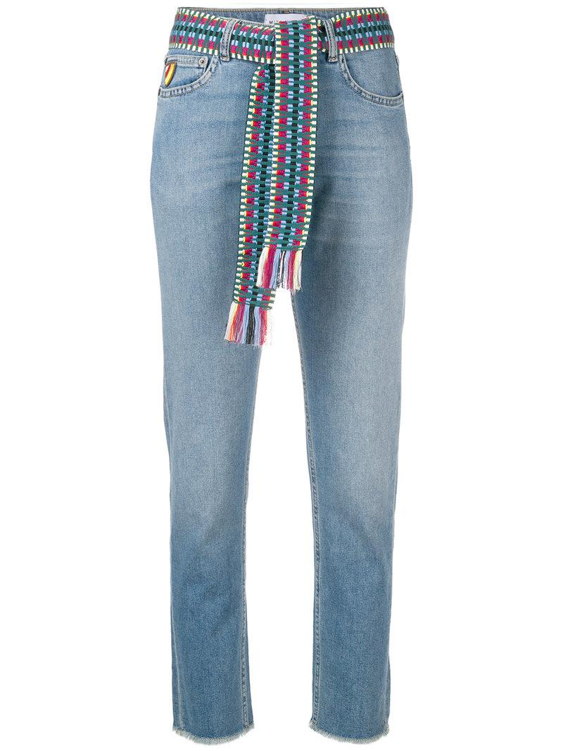 Mira Mikati cropped frayed jeans Best Wholesale Sale Online Top Quality Cheap Fashionable Clearance Amazing Price OmuI683rc5