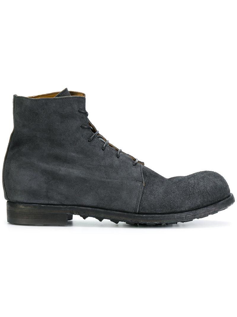 Buy Cheap Amazon lace-up boots - Blue Officine Creative Buy Cheap Shopping Online Outlet Recommend j2Uf5iV