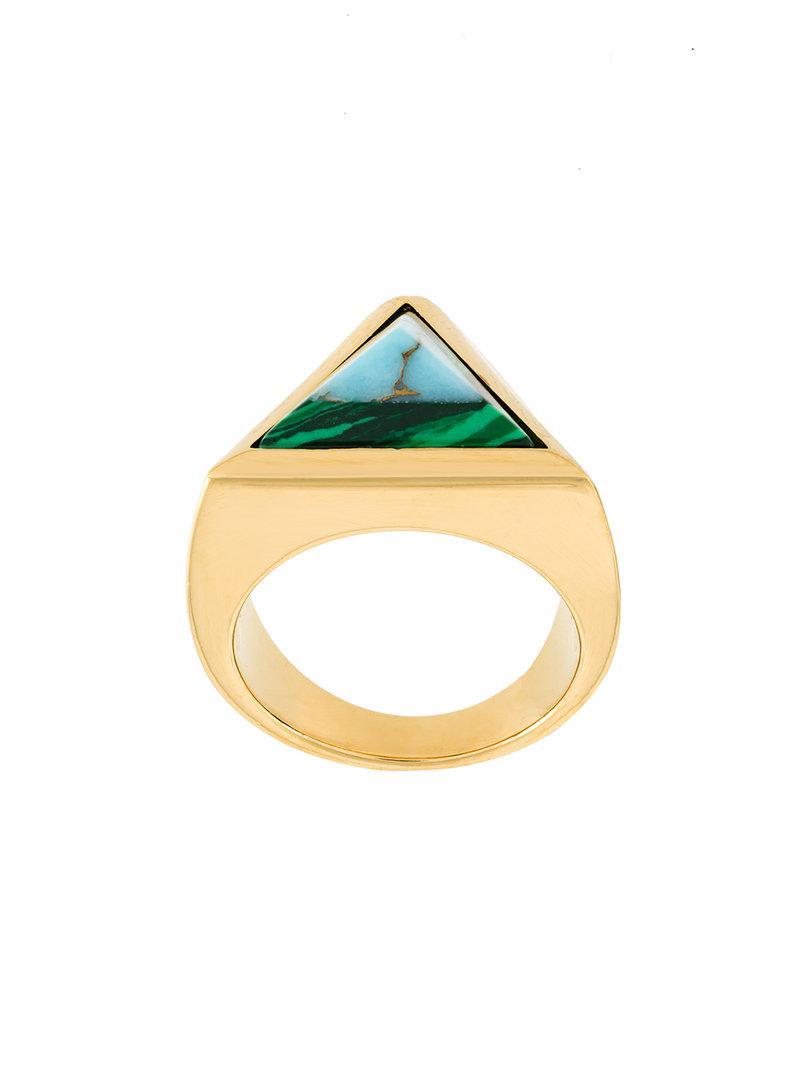 Fendi Rainbow chain double ring - Metallic EfKXnn4KR