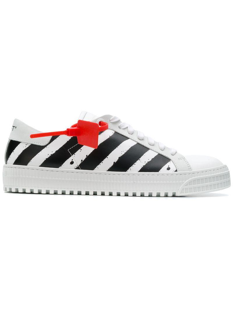 5cab311aa5901 Lyst - Off-White c o Virgil Abloh Diagonals Sneakers in White for Men