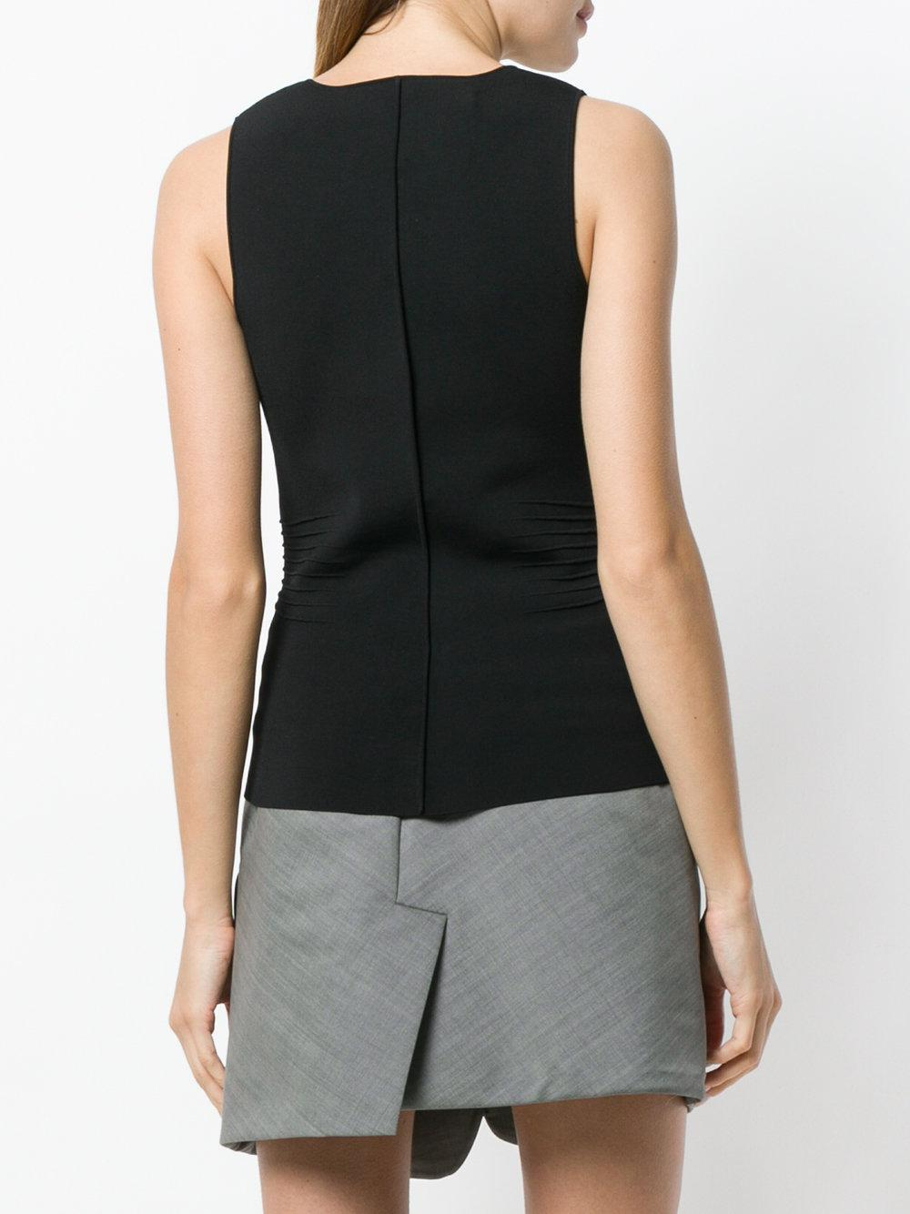 Free Shipping High Quality pleated detail sleeveless top - Black Alexander Wang Ost Release Dates Free Shipping Cheap Quality Pre Order Online 2dxCQZiMIO