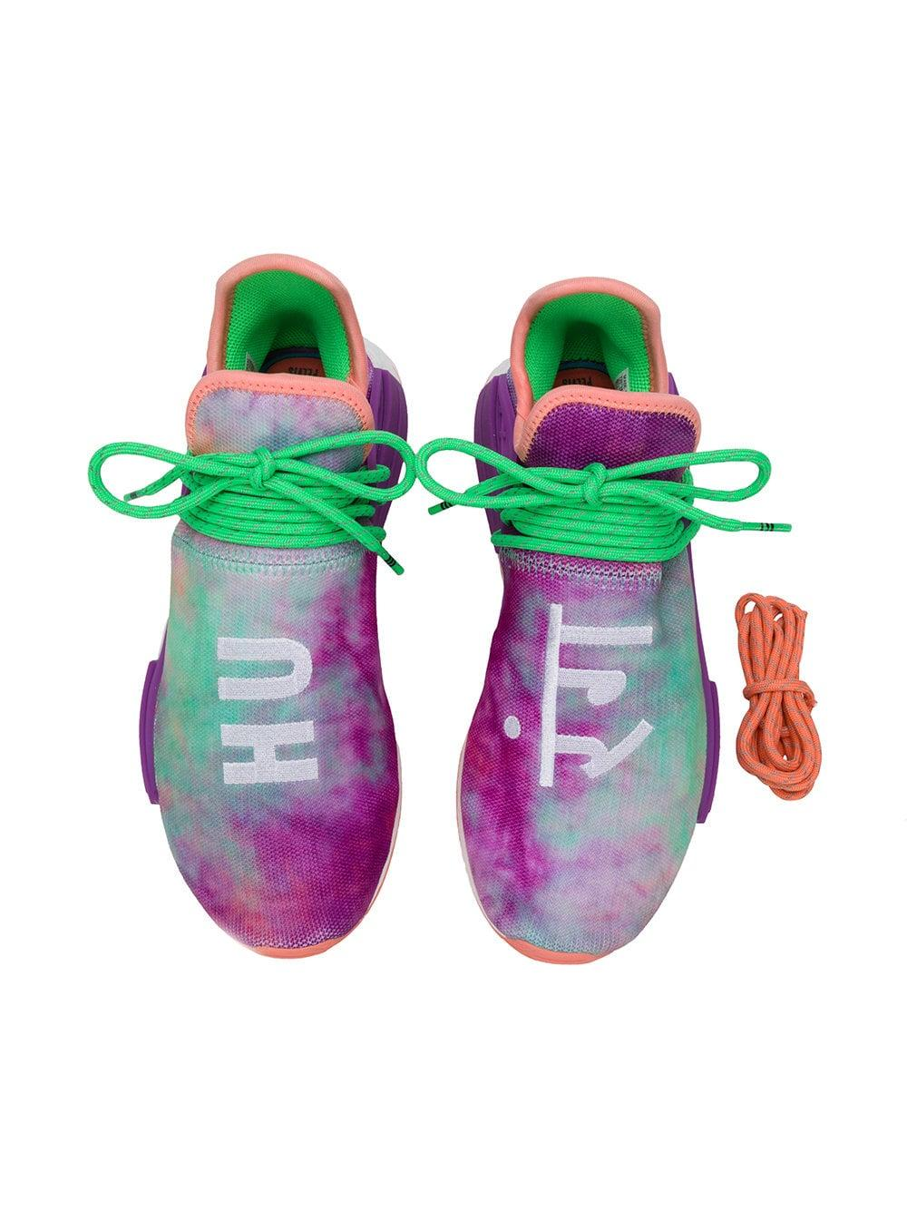 60f9293e409653 Adidas - Multicolor Tie-dye Holi Hu Nmd Sneakers for Men - Lyst. View  fullscreen