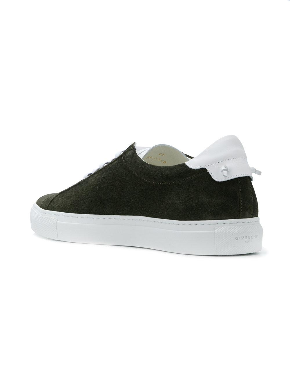 sports shoes 30f54 4bbb6 givenchy-Green-Contrast-Low-top-Sneakers.jpeg
