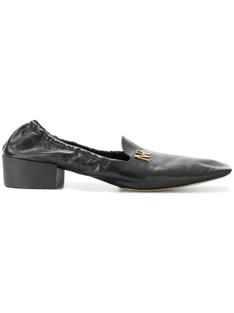 Nina Ricci Leather Lace-Up Flats discount excellent clearance with credit card cheap sale how much eqXgrt5aa
