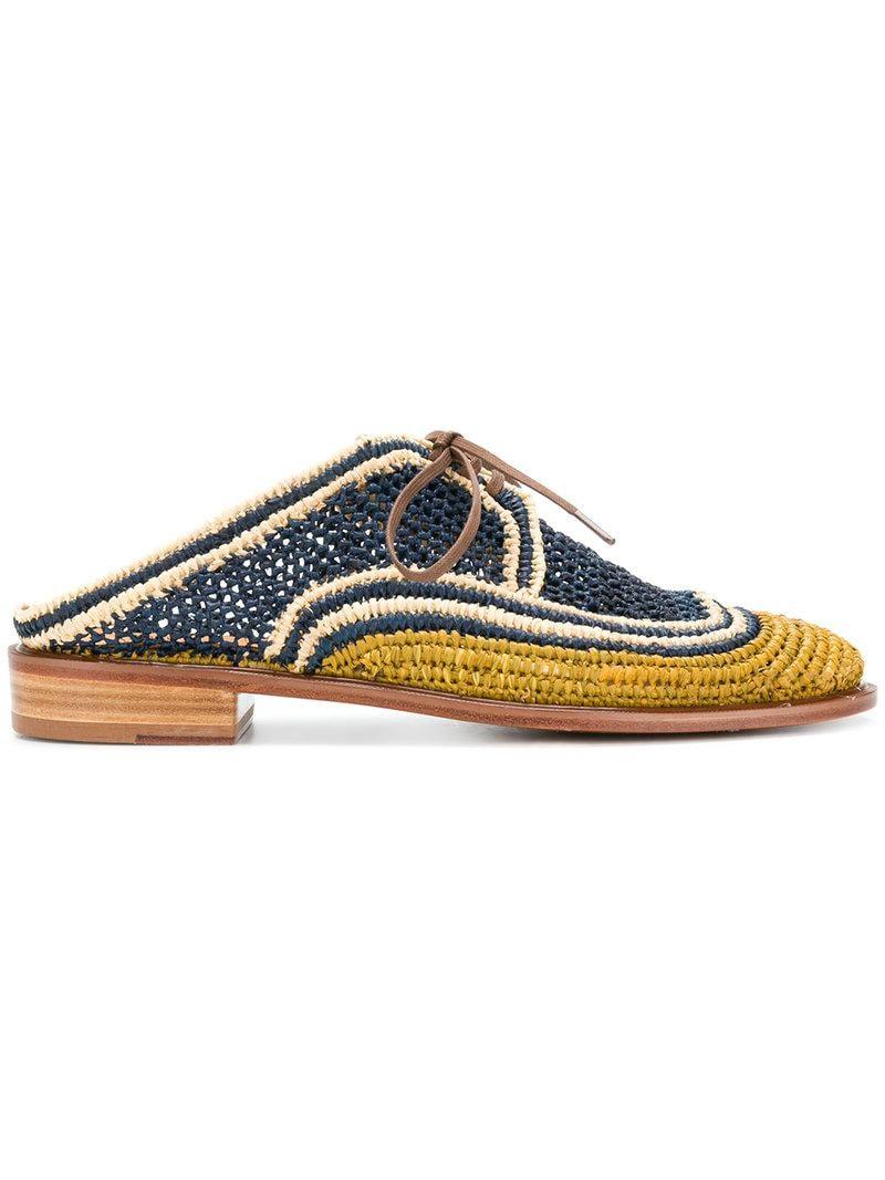 Clergerie Slip-on Mocassins Crochet - Bleu uoobcJf3bb