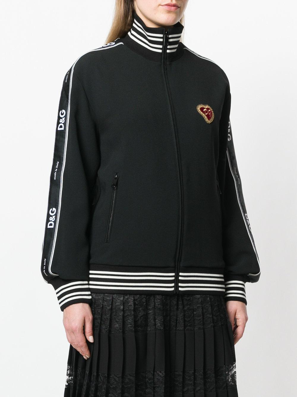 À Patch En De Logo Gabbana Sport Dolce Veste Lyst amp  Zippée Coloris  qf6B47xw 4adc028f782b